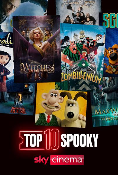 Top Ten Show: Spooky